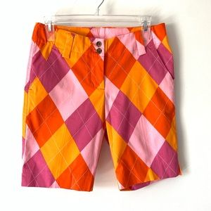 Loudmouth Raspberry Sure Bet Bermuda shorts 0 NWTs